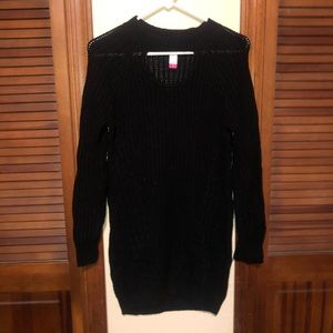 Knit black BodyCon dress